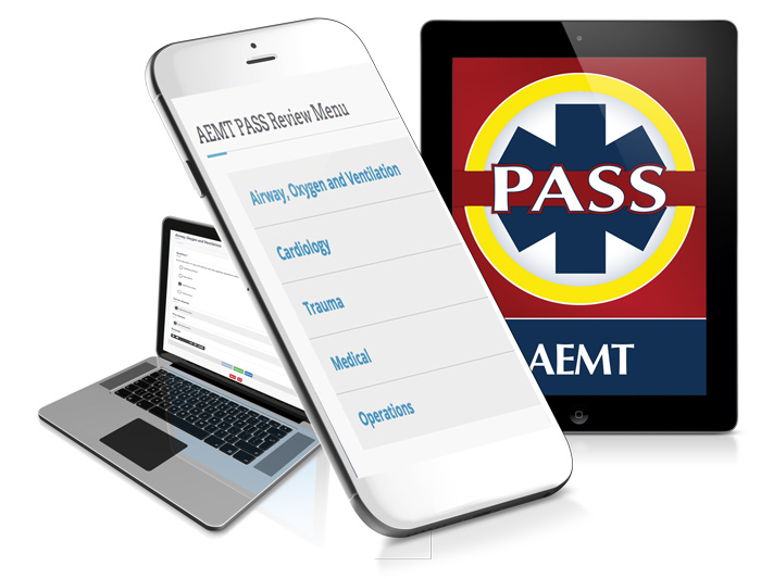 NREMT review app aemt pass