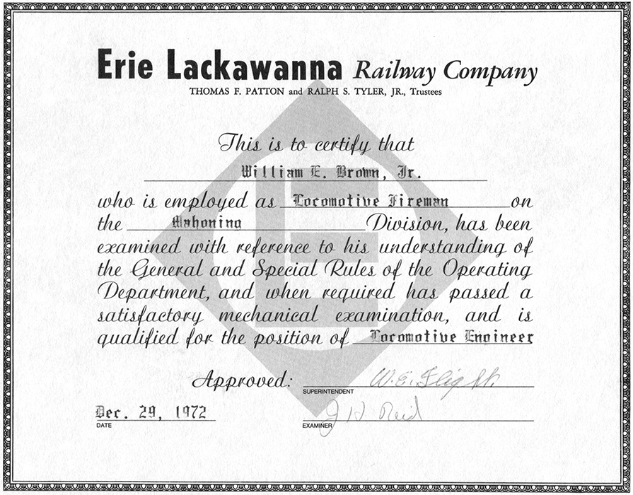 Erie-Lackawanna-Diploma