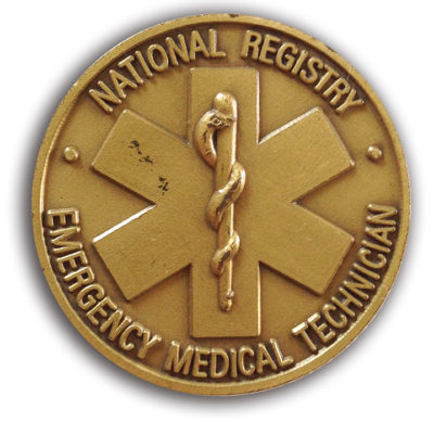 NREMT Medallion to William Brown
