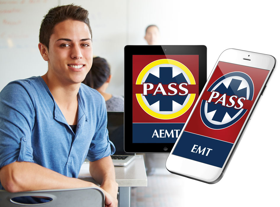 ems student and instructor for certification testing